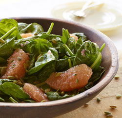 Spinach Grapefruit Salad